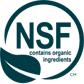 NSF luomukosmetiikka logo
