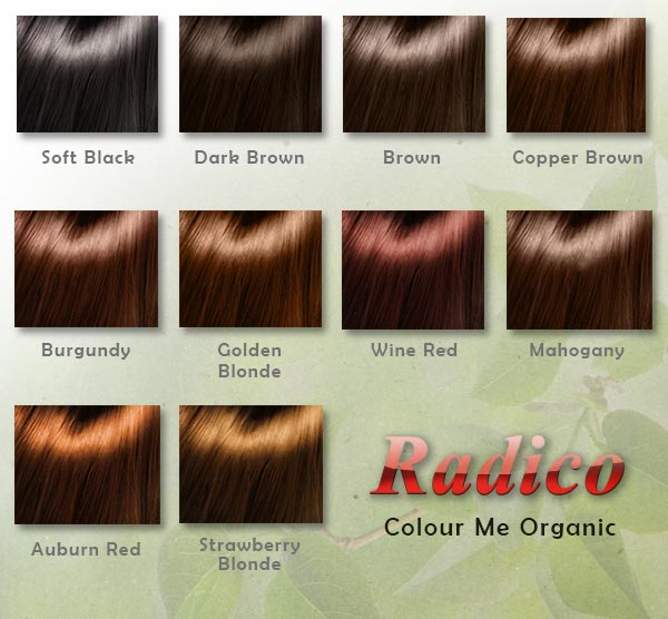 Radico Colour Me Organic kasvivärit