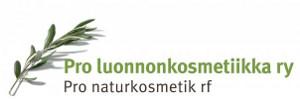 Pro Luonnonkosmetiikkayhdistyksen logo